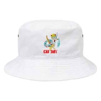 CAT BOY Bucket Hat