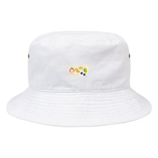 フルーツサンド単品柄 Bucket Hat