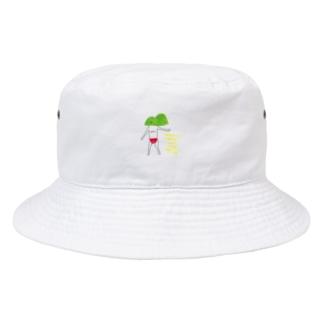 赤いパンツの山 Bucket Hat