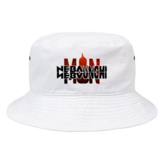 NEVANEVA UNCHI MAN Bucket Hat