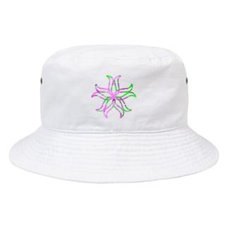 curveFlower Bucket Hat