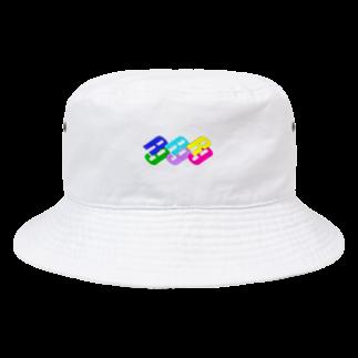R-9.のRAINBOW. Bucket Hat