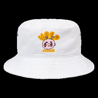 HAGE_DRILLのモコウサ Bucket Hat