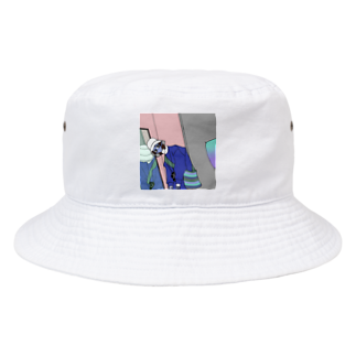 tokachanのアパレル君 Bucket Hat