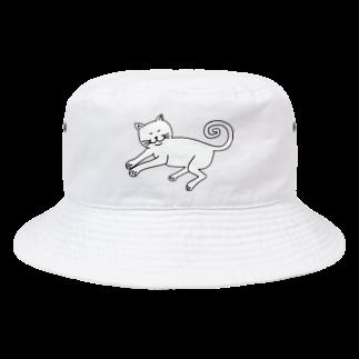 パナウルマジックのあしが伸びるネコ【カナ】 Bucket Hat