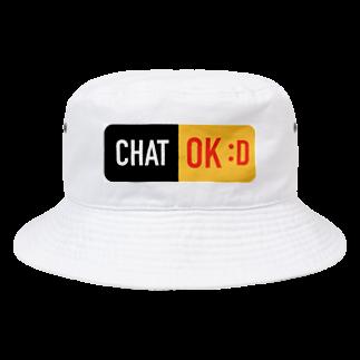 CHARAMOEXの雑談OKアイテム Bucket Hat