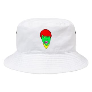 進撃のすず! Bucket Hat