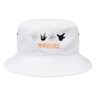 I LOVE MARVELOUS Bucket Hat