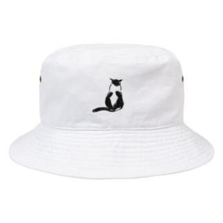 ハトちゃんこっち向いて Bucket Hat