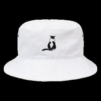 CUROGNACのハトちゃんこっち向いて Bucket Hat