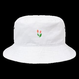 のやま うろこのちょこんとチューリップ Bucket Hat