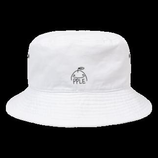 ゆるふわ屋のすまいるアップル Bucket Hat