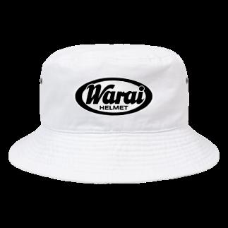 booya!のWarai(笑い)ヘルメット【パロディー商品】 Bucket Hat