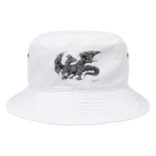 ドラゴン Bucket Hat