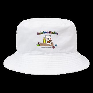 Rainbow StudioのNo Rain, No Rainbow! Bucket Hat