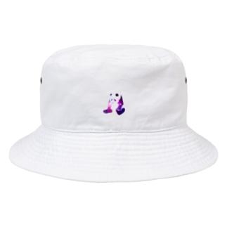 宇宙パンダの背中にパンダ? Bucket Hat