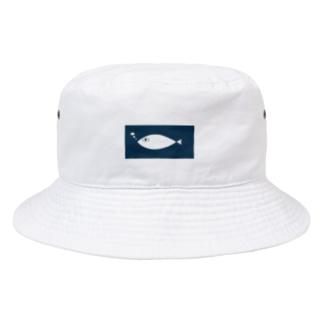 おさかなさん Bucket Hat