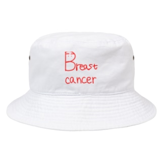 皇月SATSUKIのBreast cancer Bucket Hat