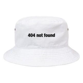 poqpoqの404 not found Bucket Hat