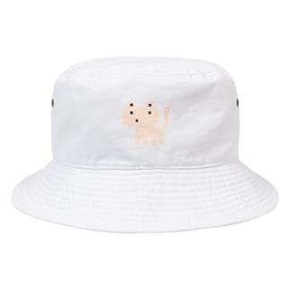 ドットネコベージュ Bucket Hat