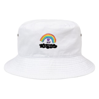 虹 Bucket Hat