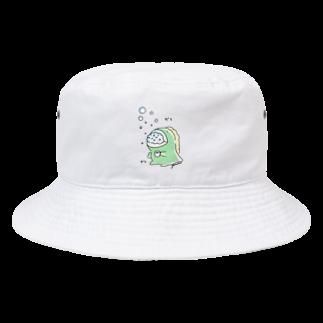 ゆるちこさんのおみせのガラガラきょうりゅう Bucket Hat