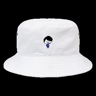 ゆるちこさんのおみせのあおちびくん Bucket Hat