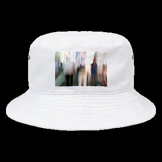 写真プリントのslowly Bucket Hat