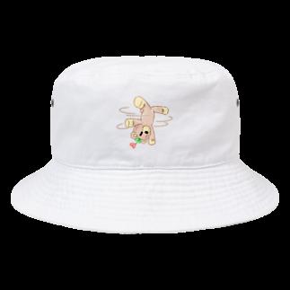 createariumのくれよんべあーダンス(キャップ&ハット) Bucket Hat