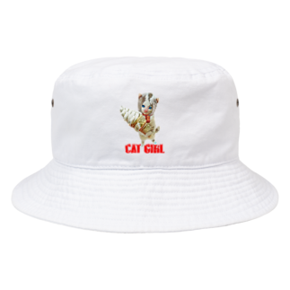 Rock catのCAT GIRL ソフトクリーム Bucket Hat