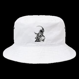 切り絵ariのWAON Bucket Hat