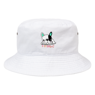 peacefulのグデフレ君 Bucket Hat