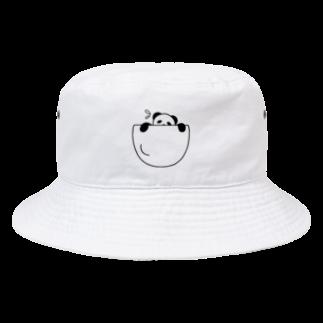 mojimojiの脱出!ポケットパンダさん Bucket Hat