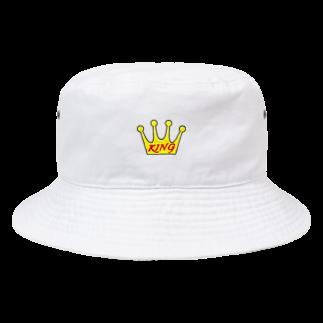 Sorapolice_pinopoliceのKING Bucket Hat