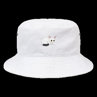 atelier rainyの見つめるしっぽちゃん Bucket Hat