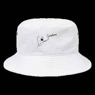 いなかのくるま 木佐のstay homeバケットハット Bucket Hat