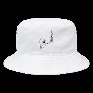 いなかのくるま 木佐の自粛バケットハット Bucket Hat