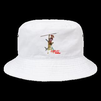 Rock catのKABUKI SAMURAI Bucket Hat