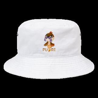 ウサネコのぷり☆スズメちゃん Bucket Hat