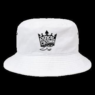 Shingo TashimaのROYAL CROWN 『KING』 Bucket Hat