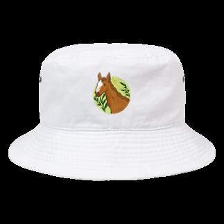 Lichtmuhleの馬 Bucket Hat