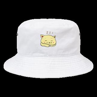 ぺけ丸の寝ぬっこ Bucket Hat