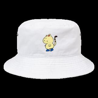 ぺけ丸の長靴をはいたぬっこ Bucket Hat