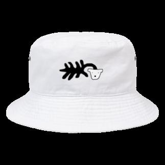 uの死シダ鉢犬 Bucket Hat