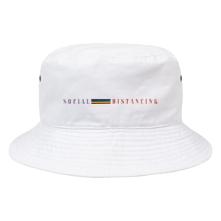 2020s Social Distancing - But Together Bucket Hat