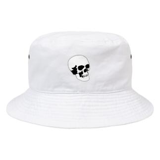 普通の骸骨 Bucket Hat