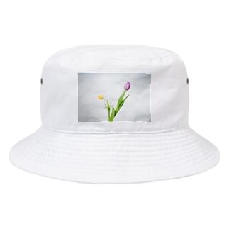 チューリップ フォトT Bucket Hat