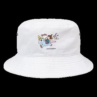 nakashinのこどもまんがベビー生誕記念(ユニコーン) Bucket Hat