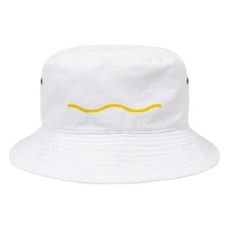 分かる人にしかわからないニョロ単体ロゴ Bucket Hat
