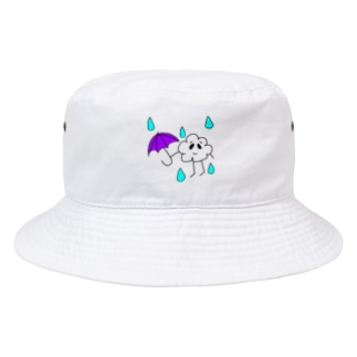 雲くん☔色つきver Bucket Hat
